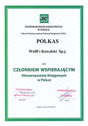 SKwP - POLKAS wspiera Stowarzyszenie Księgowych