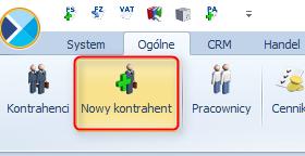 Jak dodać  kontrahenta w programie Optima1
